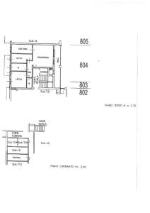 Planimetria appartamento Via Due Giugno